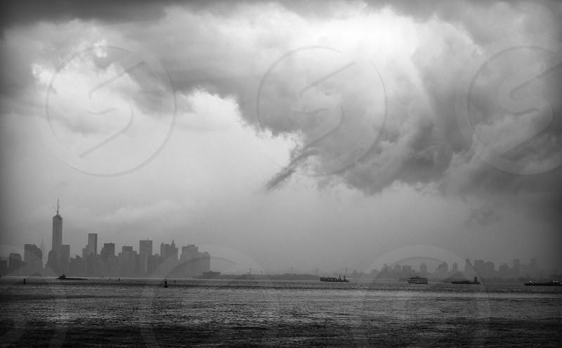 New York City Thunderstorm photo