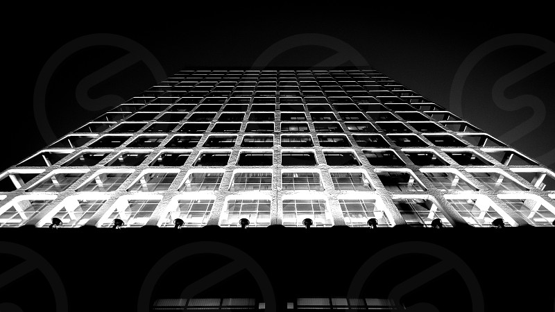 Architecture structure building landscape blab and whiteBW symmetry high lights shadows photo