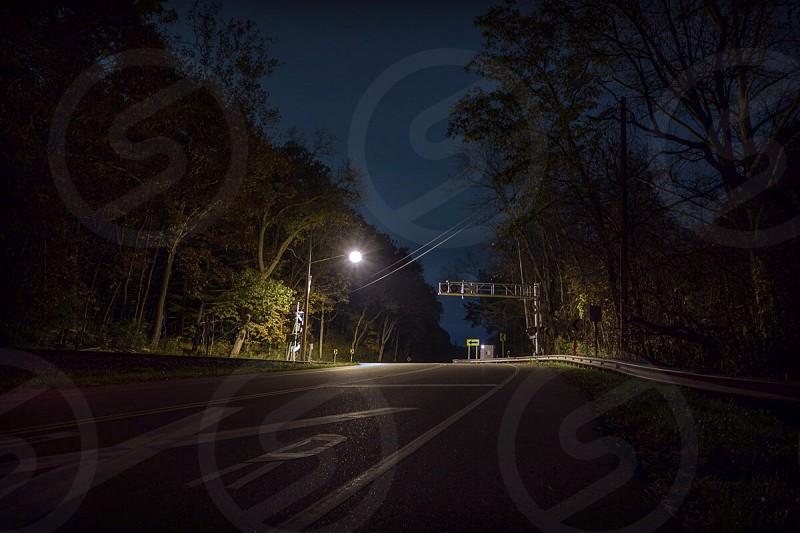 Road at Dark photo