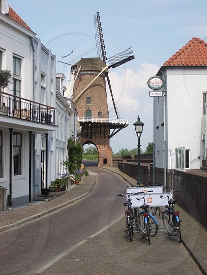 Dutch Windmill in Wijk Bij Duurstede  photo