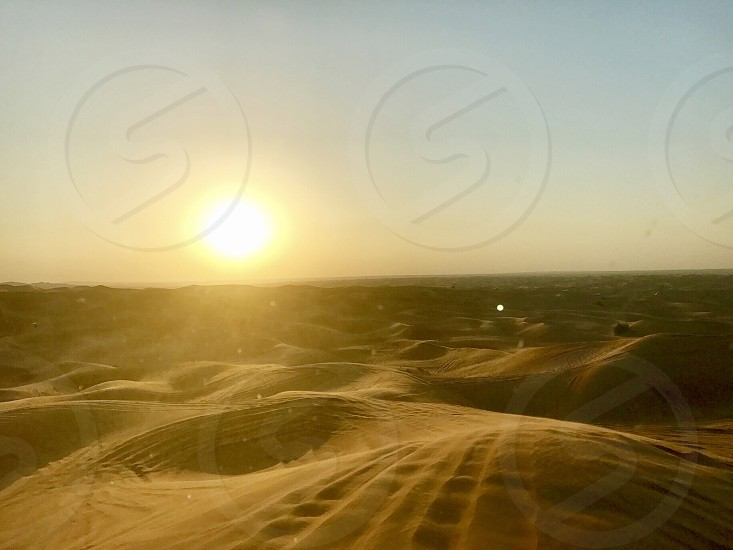 Photo captured with Nikon D5300doing desert safari in dubai. photo