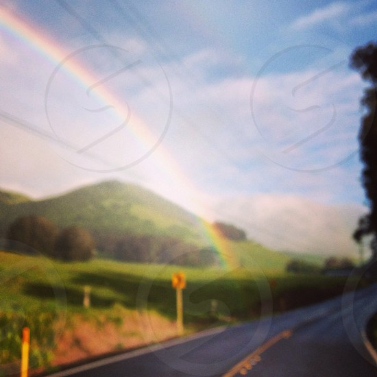 End of the rainbow photo