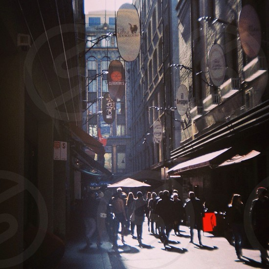 Melbourne alleyway photo