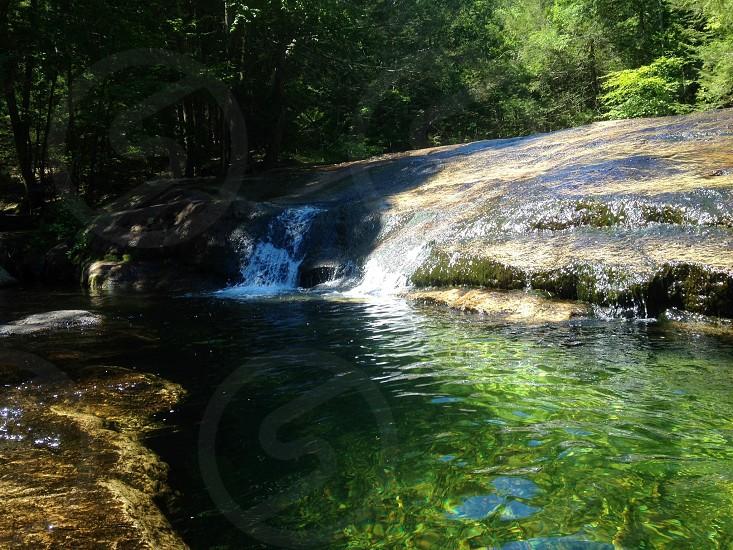 Nature waterfalls new paltz yoga retreat outdoors adventure photo