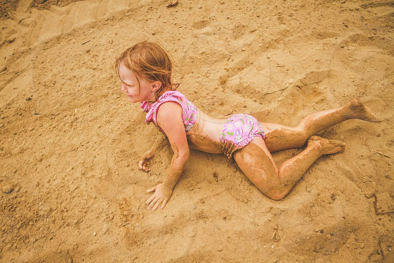 Sand monster. photo