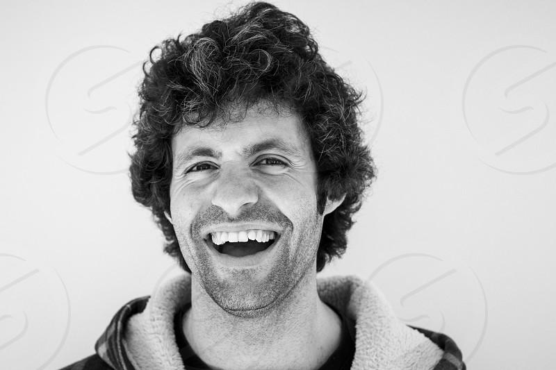 The Big Smile of the Shetland man Ruairidh Mackenzie photo