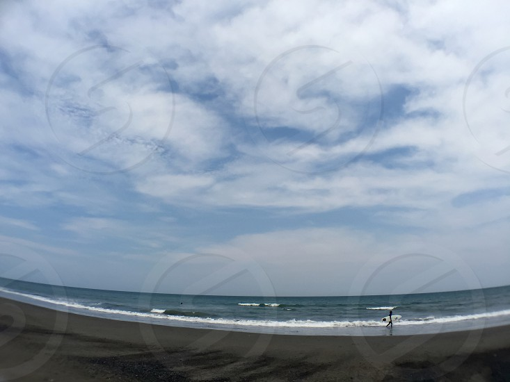 360 photography of ocean under blue sky photo