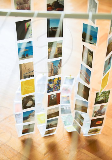 Photo curtain photo