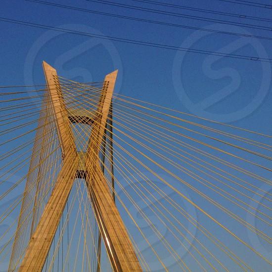 Ponte Estaiada - Sao Paulo photo