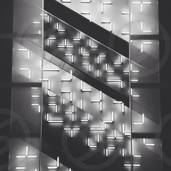 stainless steel stair  photo