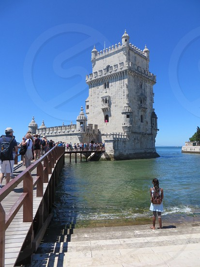 Fort in Lisbon Portugal photo