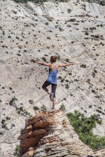 ZION Workout.  Zion National Park photo