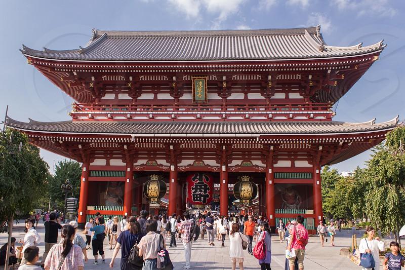 Temple Shrine in Tokyo Japan photo