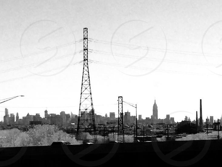 electric pole view photo