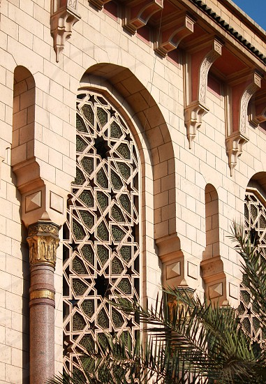 Abstract from AlFath mosque Cairo Egypt photo