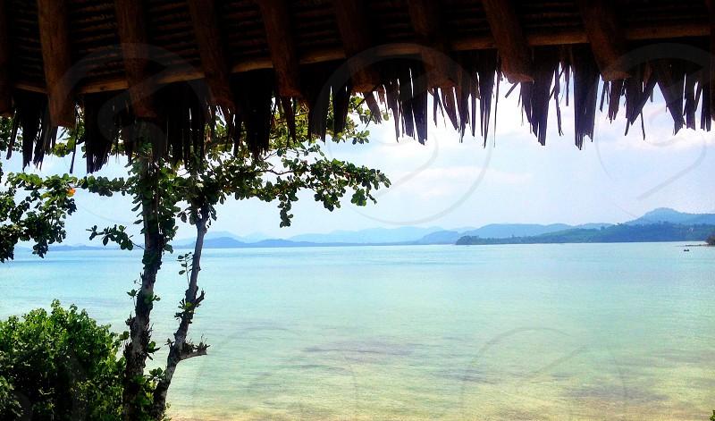 Tropical Island holiday. Clear water. Sea. Islands  photo