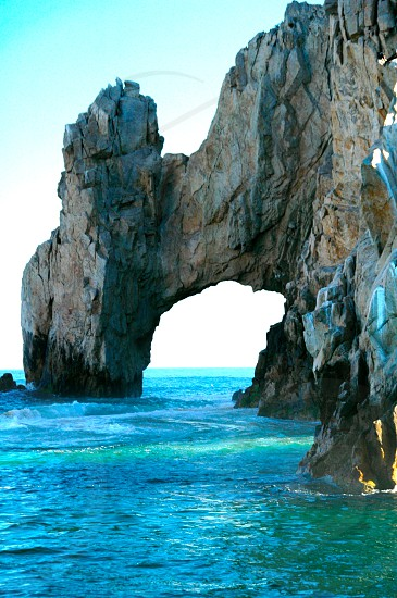 Arch of Cabo San Lucas Mexico photo