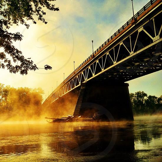 Sunderland Bridge South Deerfield Massachusetts photo
