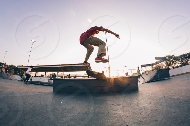 Sunset skate photo