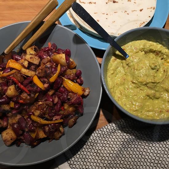 Vegan tacos photo