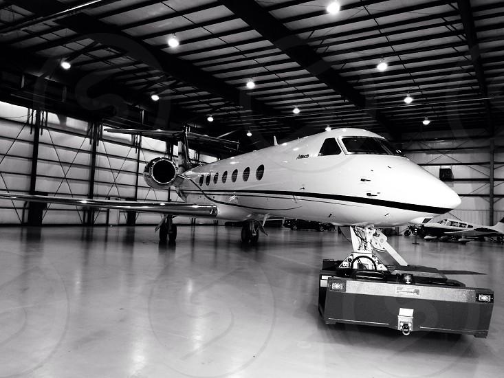 Beautiful AllTech corporate jet. photo