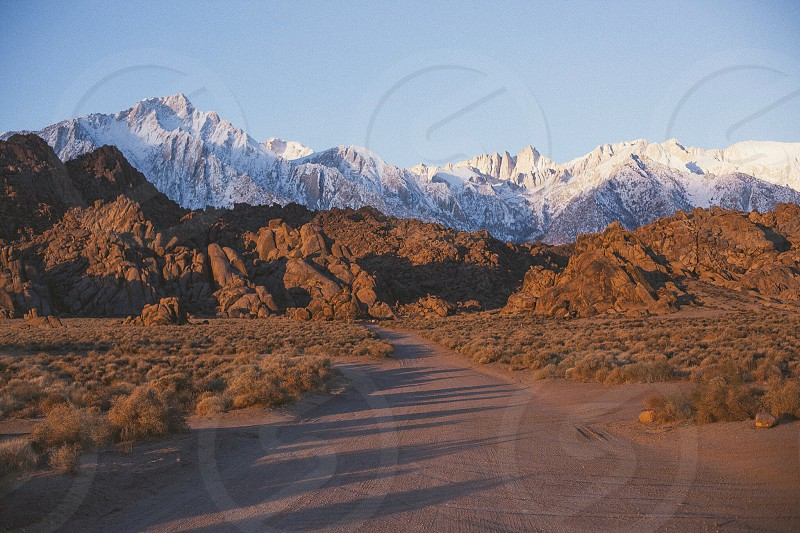 Alabama Hills Mt. Whitney Whitney Portal photo