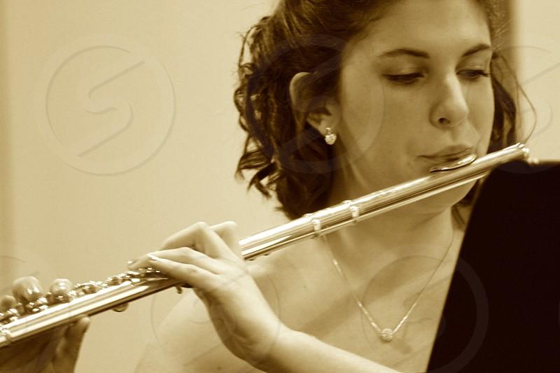 Flautist  photo