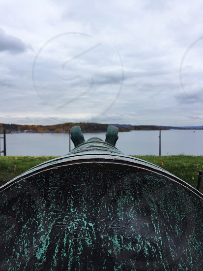 Cannon by Water photo