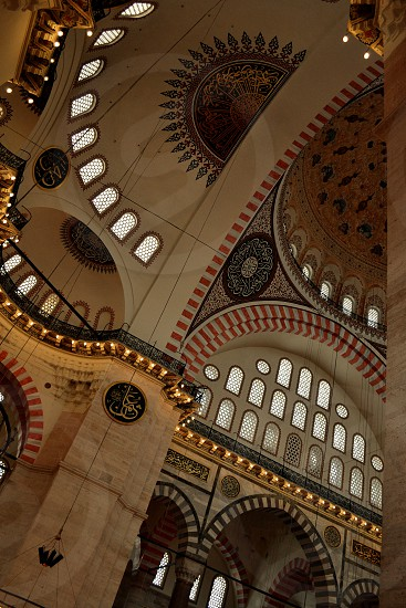 Mosque Mosaic Roof photo