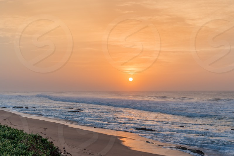 Beautiful coastline of Kwazulu Natal South Africa photo