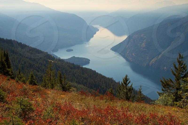 A Smokey Ross Lake Valley  photo