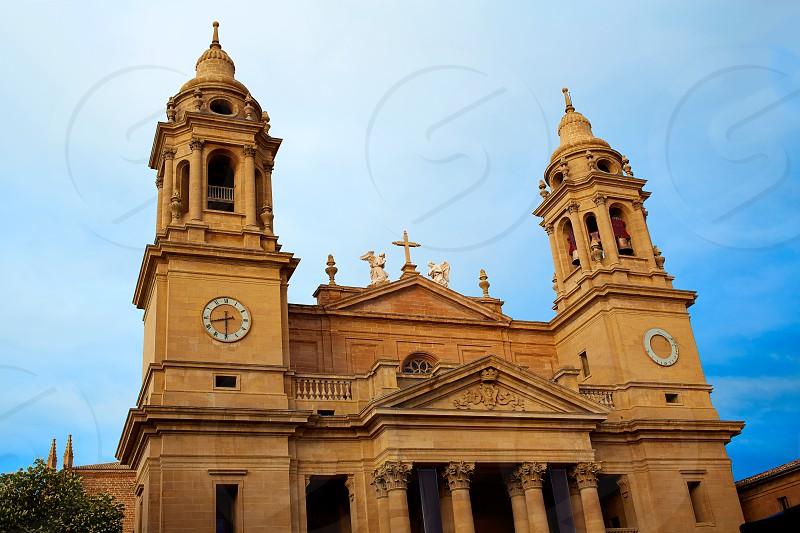 Pamplona Navarra Santa Maria Real Cathedral in Spain photo