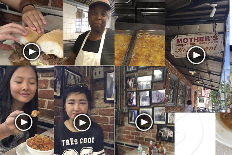 Screenshots from Zagat mobile videos. Will be uploaded to future link. photo