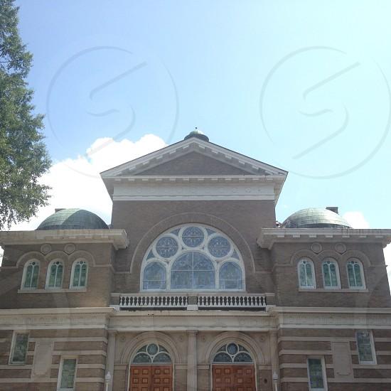 A building in Charlotte North Carolina. photo