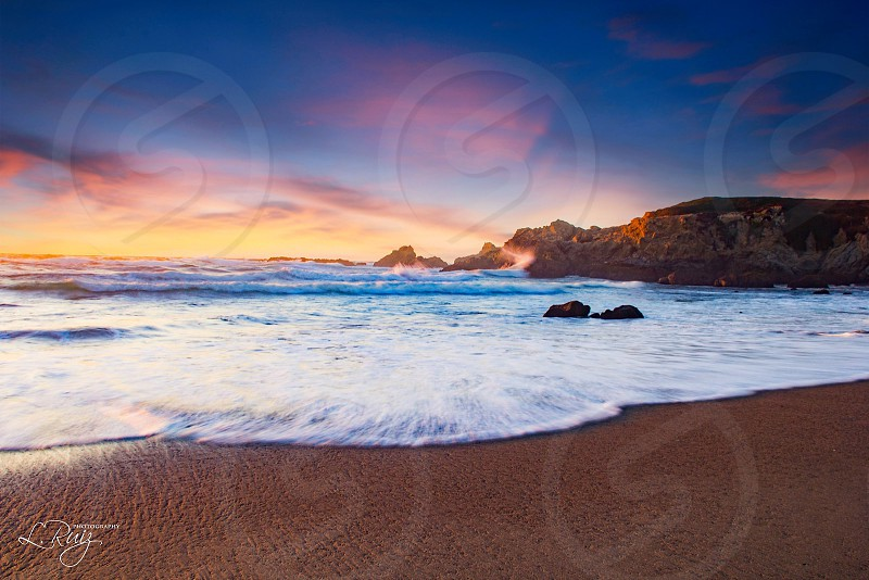 Ocean fort Bragg water view outdoors Sky  photo