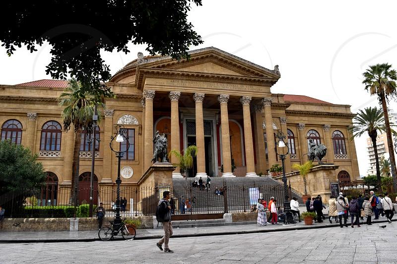 Teatro Massimo Palermo Italy photo