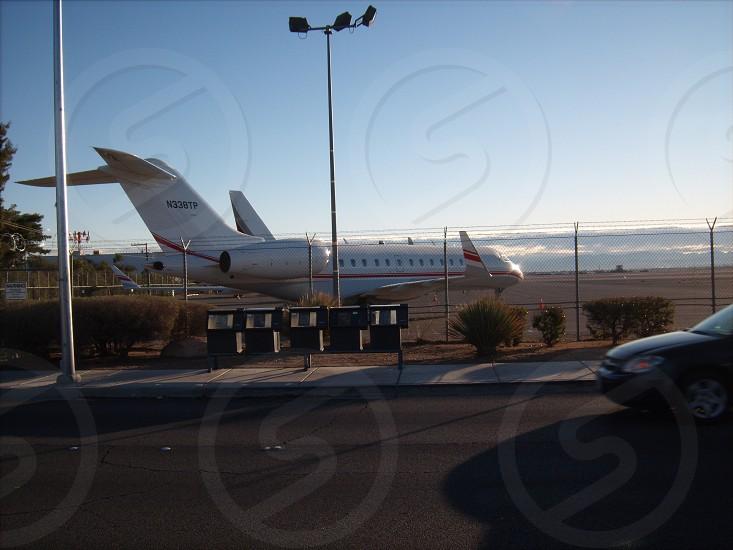 Private jet - Las Vegas photo