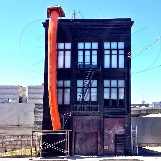 black 3 story building photo