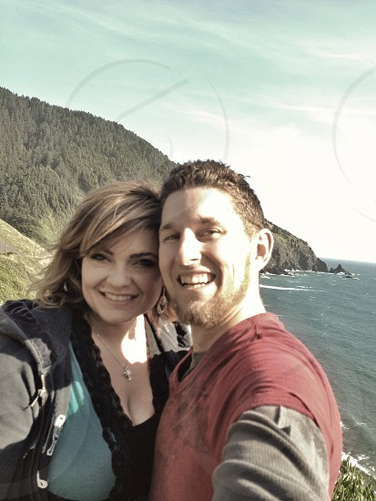 Kimberli and I on vacation in Southern Oregon photo