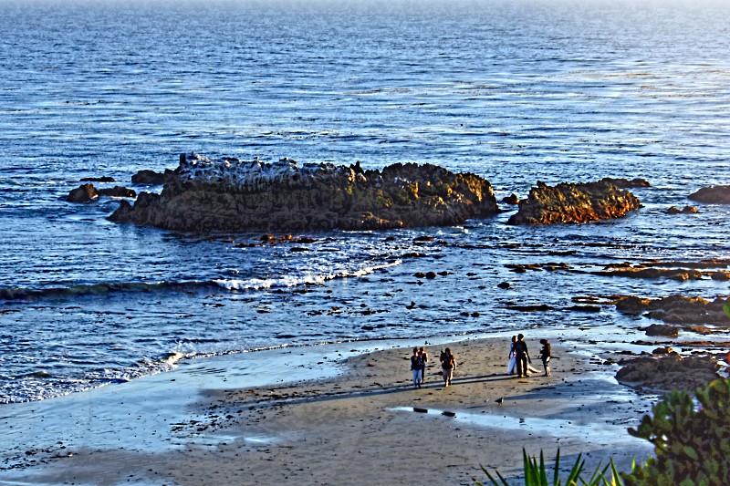 Beach Wedding: Cliff Drive Laguna Beach CA photo
