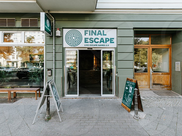 Exit room game in Berlin.  photo