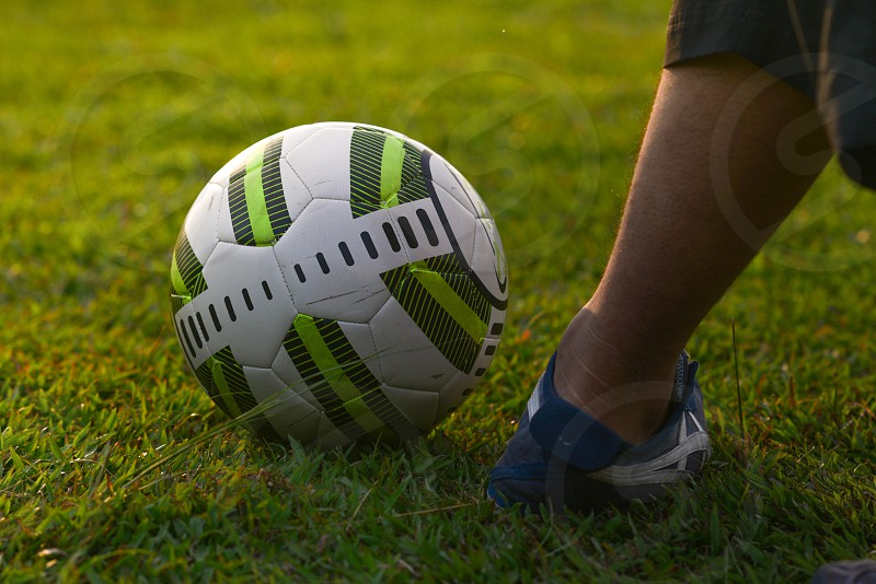 A game of football photo
