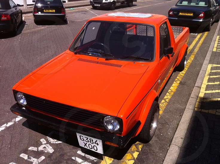 VW Caddy Mk1 Pick Up photo