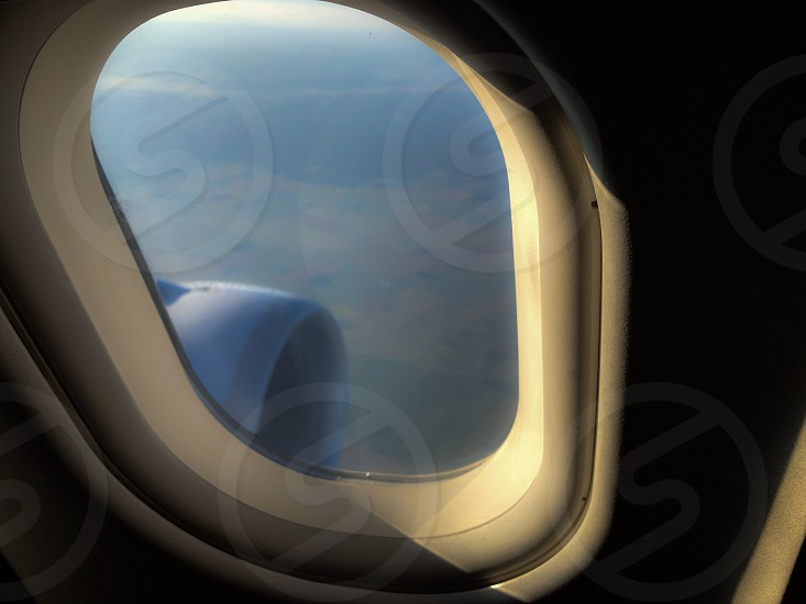 Airplane Window View From Plane Jet Window Boeing Travel