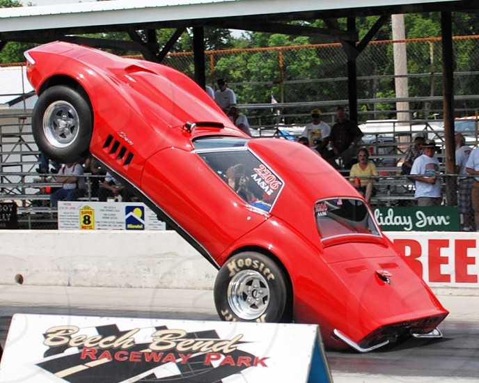 Vertical Corvette photo
