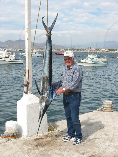 Mexico fishing sail fish pacific deep sea fishing photo
