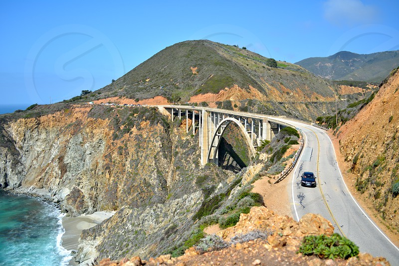 Bixby Bridge Big Sur California photo