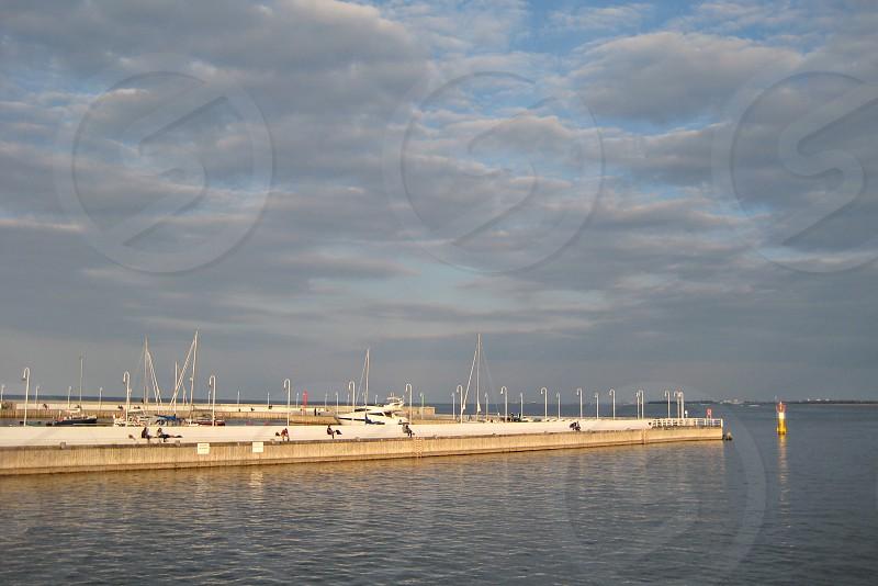 Pier in Sopot - Poland photo