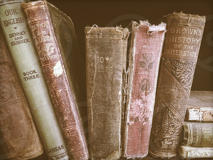 Vintage books  photo