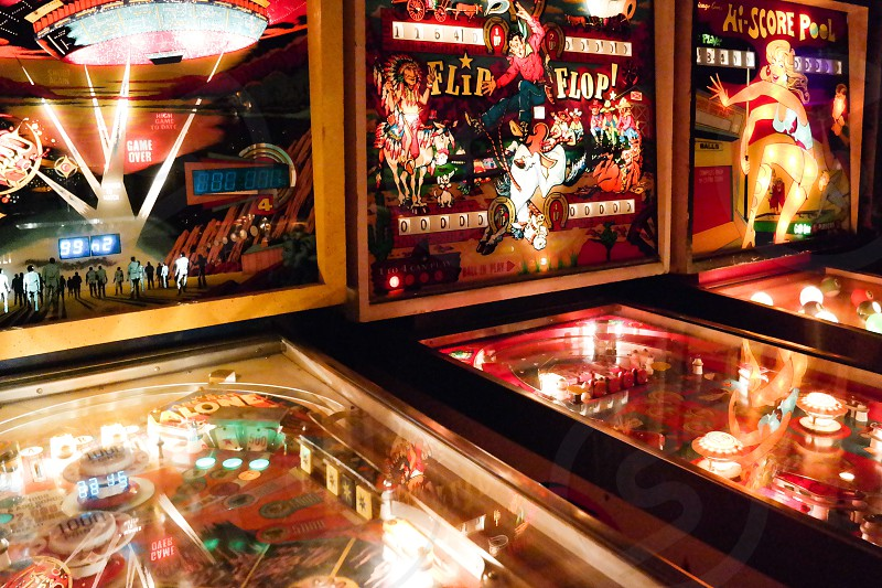 pinball in a hall photo